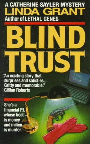 Image for Blind Trust (Catherine Sayler Mystery)