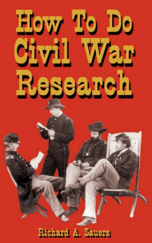 Image for How To Do Civil War Research